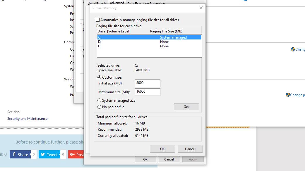 Ethereum GPU Mining Guide Changing Virtual Memory
