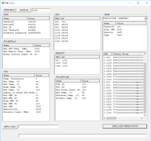 Ethereum GPU Mining Guide One Click Bios Mod
