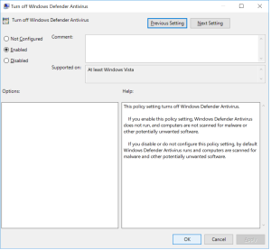 Ethereum GPU Mining Guide Turning On the Disable of Windows Defender